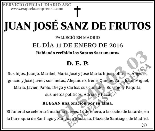 Juan José Sanz de Frutos